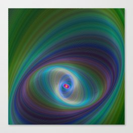 Elliptical Eye Canvas Print