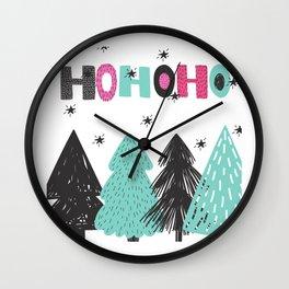 HO,HO,HO! Wall Clock
