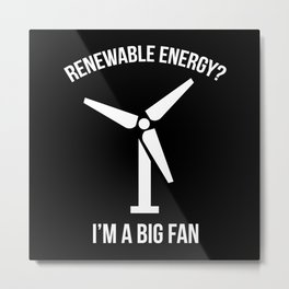 Renewable Energy Metal Print