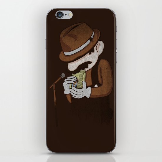 8-bit Blues iPhone & iPod Skin