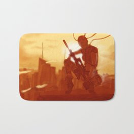 Manhattan Bot Sniper Bath Mat