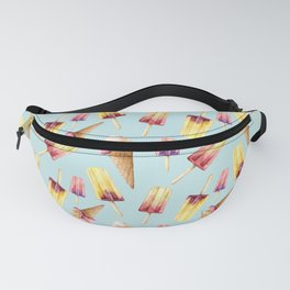 Watercolor ice cream Fanny Pack