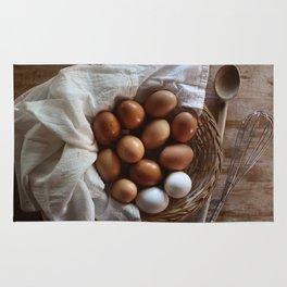 Farmhouse Fresh Eggs Rug
