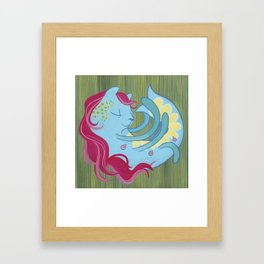 Purrmaid Framed Art Print
