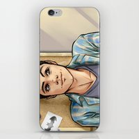 daunt iPhone & iPod Skins featuring Snark Nerdy To Me by Daunt
