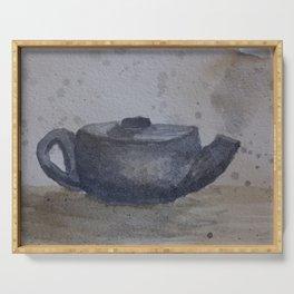 Teapot Serving Tray