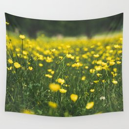 Build Me Up Buttercup Wall Tapestry