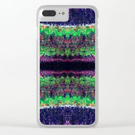 cosmic woods Clear iPhone Case