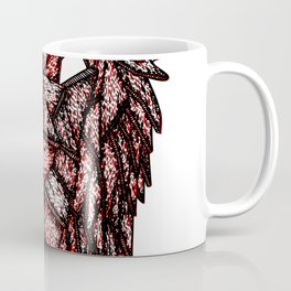 Lion Mask Coffee Mug