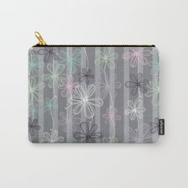 Flower Play Carry-All Pouch
