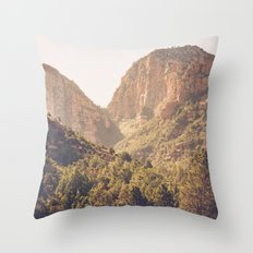 Hike at Devil's Bridge Throw Pillow