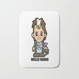 Lil Wheeled Warrior Bath Mat