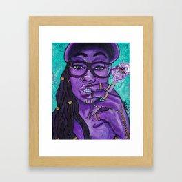CallMeVal Framed Art Print