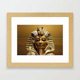 Egypt King Tut Framed Art Print