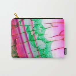Psychedelic Tie Dye Quartz Carry-All Pouch