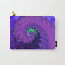 Unfurling Fractal Carry-All Pouch