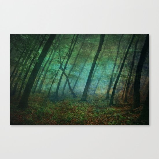 Calming blue winds Canvas Print