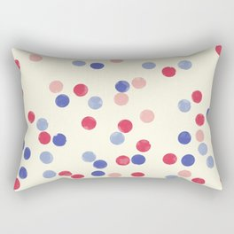WATERCOLOR CONFETTI Rectangular Pillow
