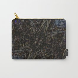 Tree Root Fractal Carry-All Pouch