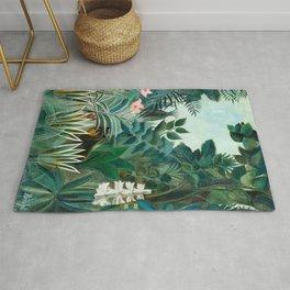 Henri Rousseau - The Equatorial Jungle Rug