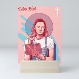 Lady Bird Pink Mini Art Print