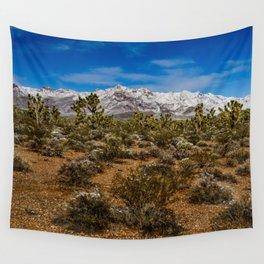 Desert Snow - 4936 Wall Tapestry