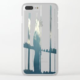 Streaks In The Clouds Clear iPhone Case
