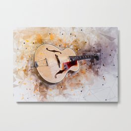 Electric Guitar Art Metal Print