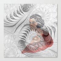 behind the fractal -c- Canvas Print