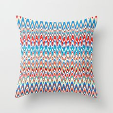 Making Waves Beach Towel Throw Pillow