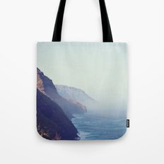 Hawaii Mountains Along the Ocean Tote Bag