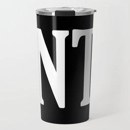 ENTJ Personality Type Travel Mug