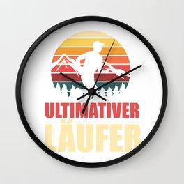 Ultimate Runner - Marathon Wall Clock