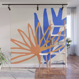 Garden Sunlight (and Shadows)  - Abstract Leaf Shapes Wall Mural