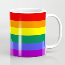 Gay pride flag Coffee Mug