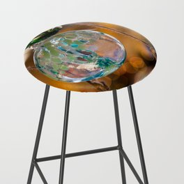 in that orb was a story of color and fire Bar Stool