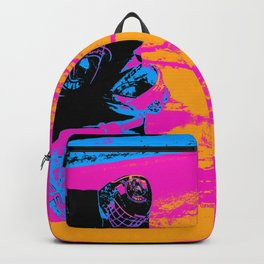 And the Puck Stops Here! - Hockey Goalie Backpack
