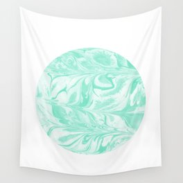 Ryota - spilled ink abstract marble circle trendy must have gift for dorm college student life paint Wall Tapestry