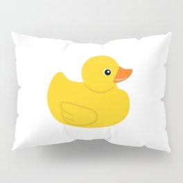 Yellow rubber duck Pillow Sham