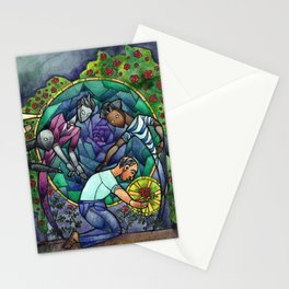 The Rose Maze Stationery Cards