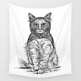BAT CAT Wall Tapestry