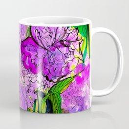 Summer Peonies Coffee Mug
