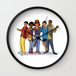 A Different World Wall Clock