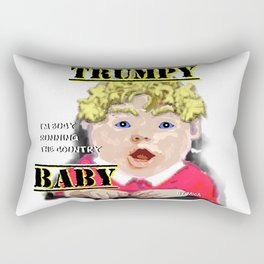 Trumpy Baby Invasion Rectangular Pillow