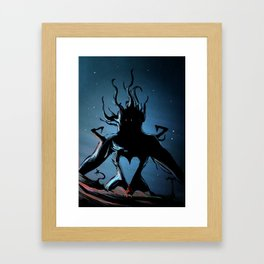 Darkside Framed Art Print