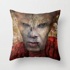 Shapeshifter Throw Pillow