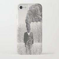 anxiety iPhone & iPod Cases featuring Anxiety by Alex Gregory Mears