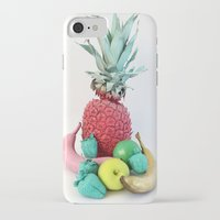 fruits iPhone & iPod Cases featuring Fruits by Luna Portnoi