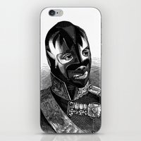 wrestling iPhone & iPod Skins featuring WRESTLING MASK 8 by DIVIDUS