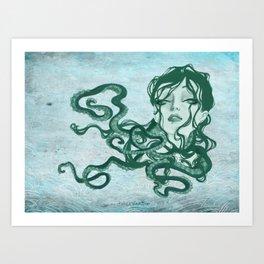 Kracken Art Print